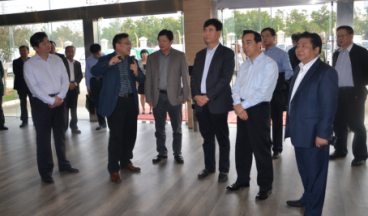 Zhao Hang, former director of China Automotive Technology Research Center, came to the company for investigation
