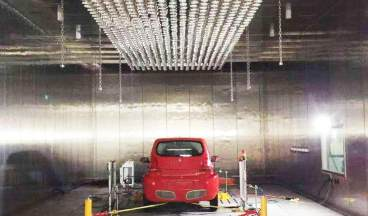 Vehicle walk-in high and low temperature humidity and heat environment test chamber