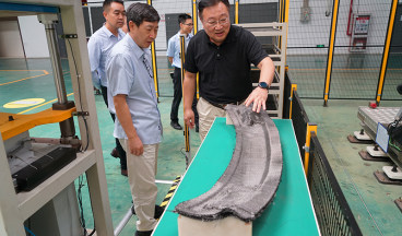 Academician Wang Haijiang from Southern University of Science and Technology visited the company