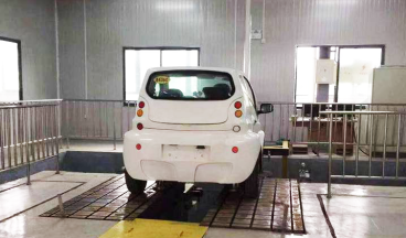 K&C characteristic test bench for single axle automobile suspension