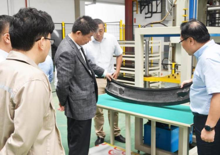 Li Kaiguo, Chairman of China Automotive Research Institute, visited the company